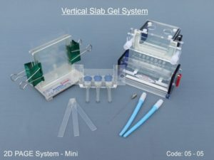 Vertical Slab Gel System - 2D PAGE System - Mini